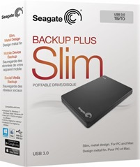 Seagate Backup Slim Failure